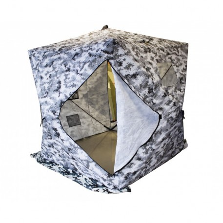 Палатка зимняя Куб WPE утепл. кмф. 1,8х1,8х2,05 м