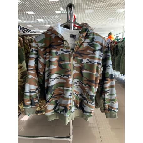 Куртка утепленная камуфляж 5XL