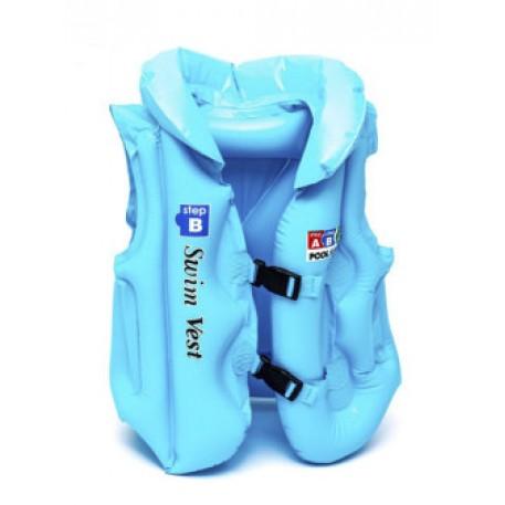 Жилет спасательный детский  цв, синий