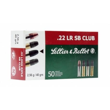 Патрон S&B (.22 l.r.) LR SB CLUB (40grs)(2,56г.)