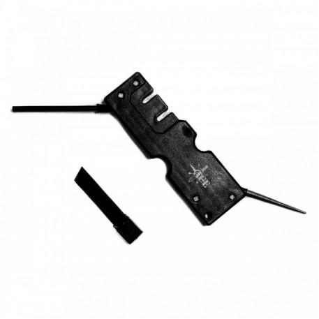 Точилка многофункциональная для ножей с огнивом АСЕ