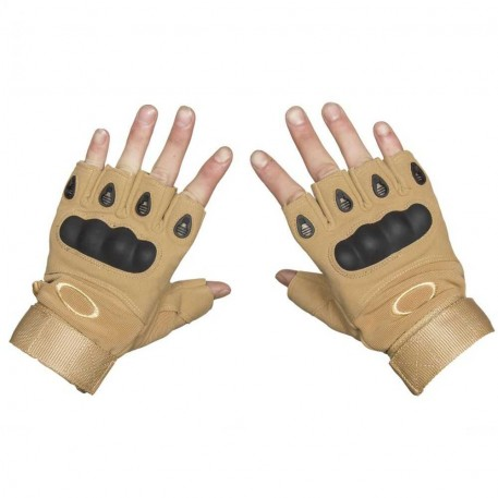 Перчатки беспалые Oakley (цв. песочный)