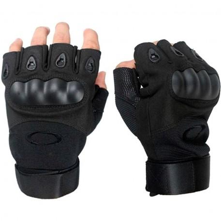 Перчатки беспалые Oakley (цв. черный)