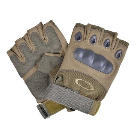 Перчатки беспалые Oakley (цв. болотный)