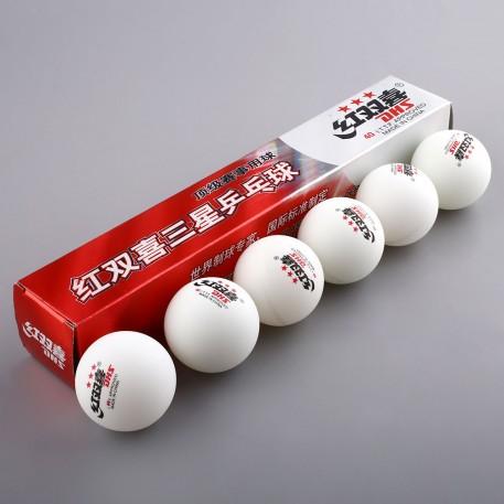 Мячи для настольного тенниса GF6607-Р (6шт в уп-ке )