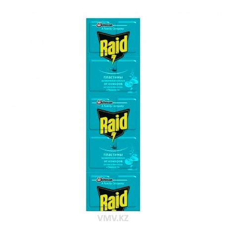 Рейд - пластины от комаров аром. Эвкалипт (10 шт)