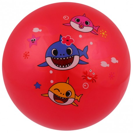 Мяч «Весёлая акула», d=22 см, цвета МИКС
