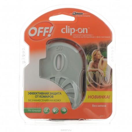 Офф! Clip-on катр и прибор с фен-систем 1мл*6
