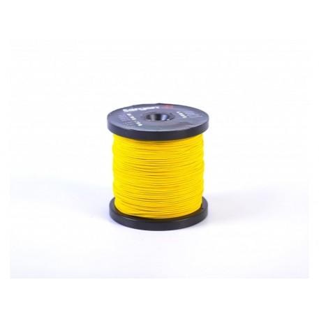 Линь САРГАН желтый нейлон D 2,0 мм 1 м (катушки по 100 м)