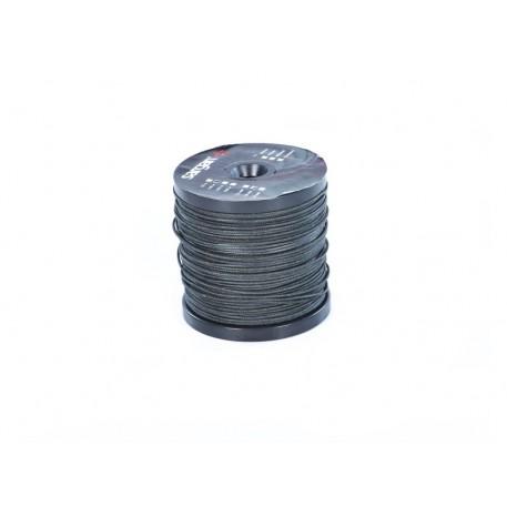 Линь САРГАН черный нейлон D 1,5 мм, за 1 метр (катушки по 500 м)
