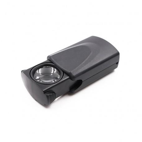 Лупа с подсветкой «Следопыт», кратность 30 х, d л. 21 мм,с компл. батареек, вес 31 г/360/