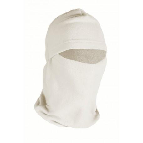 Шлем-маска Балаклава тк.флис б/р цв.белый
