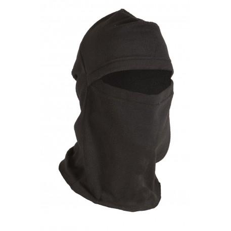 Шлем-маска Балаклава тк.флис б/р цв.черный.