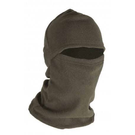 Шлем-маска Балаклава тк.флис б/р цв.хаки.