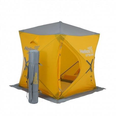 Палатка зимняя Куб EXTREME 1,5х1,5 (HW-TENT-80059-1) Helios (бур-ввертыш 8 шт. в комплекте)