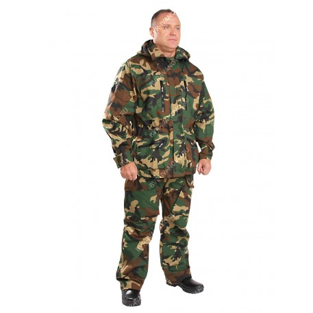 Военная форма зимняя  тк. Рип-Стоп,Цвет: зеленый камуфляж р. 60