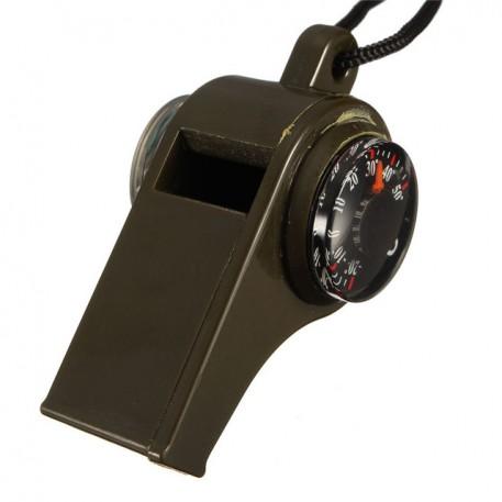 Компас-свисток-термометр