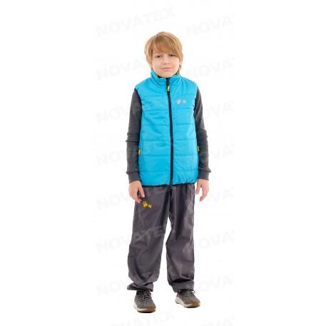 Жилет «Хамелеон» (дюспа, сине-желтый) детский МАУГЛИ (128-134 (7-8 лет))