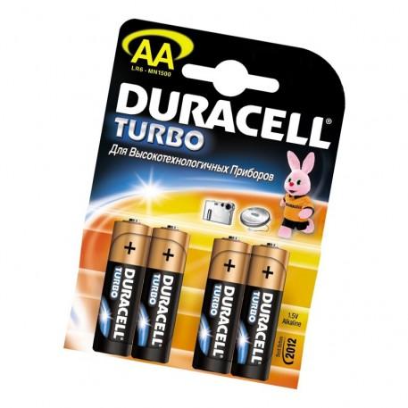 Батарейка Duracell АА MN1500 TURBO
