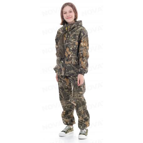 Костюм «Лесовик» (сорочка, дубок) детский МАУГЛИ (152-158 (11-13 лет))