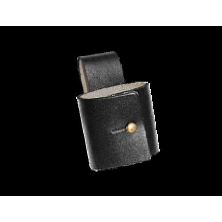 Кобура Хольстер под дубинку с фиксатором (кожа Light)