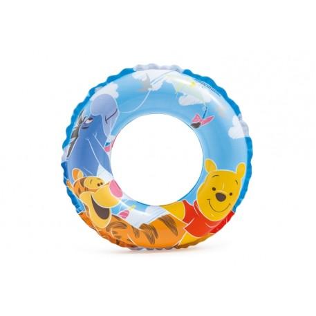 Круг для плавания «Винни Пух», d=51см, от 3-6 лет, 58228NP INTEX