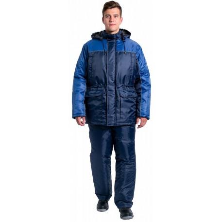 Костюм зимний  сине-голубой (оксфорд) 48-50 р-р.