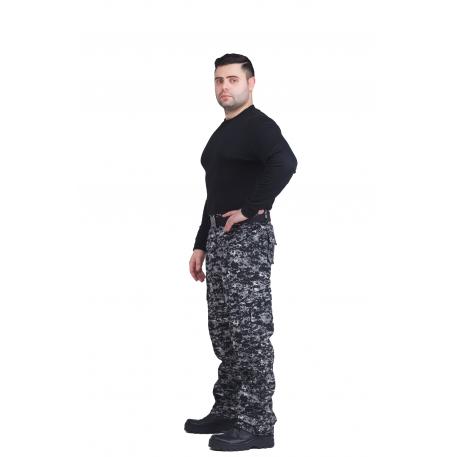 """Брюки """"Армия"""", (рип-стоп, черная цифра) 7.62 (Р-Р 48-50 рост 170-176)"""