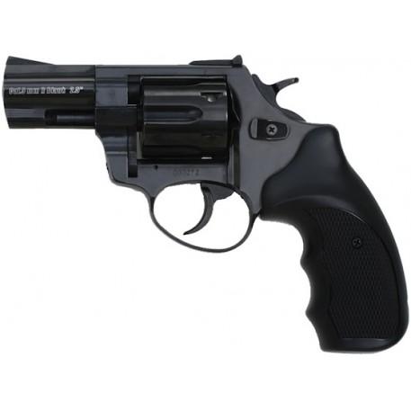 """Револьвер газовый ZORAKI Мод. R1-2.5"""" BLACK (к.-бр: 9мм)(6-зарядн.)"""