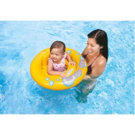 Круг надувной Intex  My Baby Float с сиденьем и спинкой 67 см, от 1-2 лет (59574)