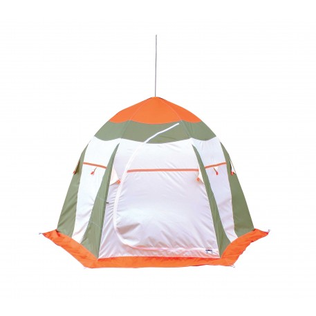 Палатка для зимней рыбалки НЕЛЬМА-3 ЛЮКС (240см х 280см х 190см)