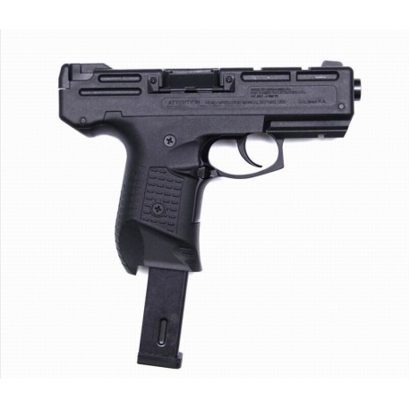 Пистолет газово-травмат.СМЕРЧ-925 BLACK (к-бр:9мм Р.А.) (16/25заряд.)